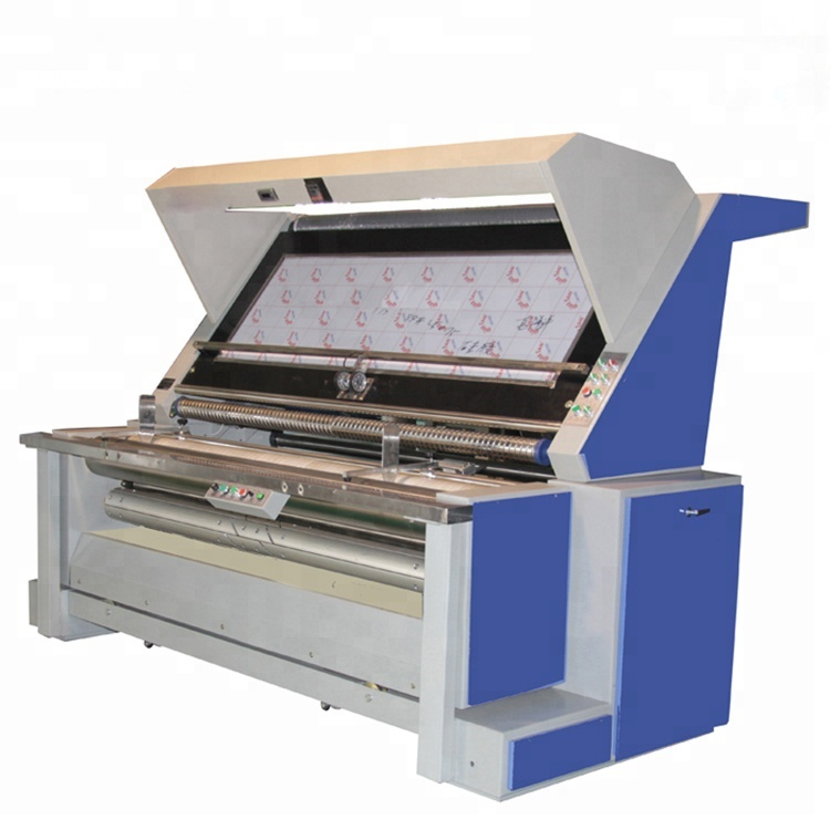 cloth roll rolling and measuring machines with digital counter meter