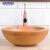Bamboo natural color Round waterproof anti-cracking throom basins