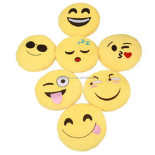 Wholesale Cheap Custom Plush Toys Emoji Pillow For Decorated