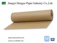 Unbleached uncoated 150gsm kraft paper roll