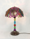 Accent Lamp Table Lamp for Hotel Home Living Room Decoration Desk Light with colourful Lampshade