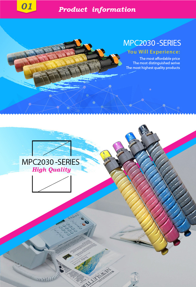 MPC2030 for Ricoh Compatible toner cartridge