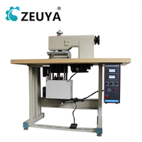 high speed semi-automatic fabric flower ultrasonic lace trim machine 200mm sewing width