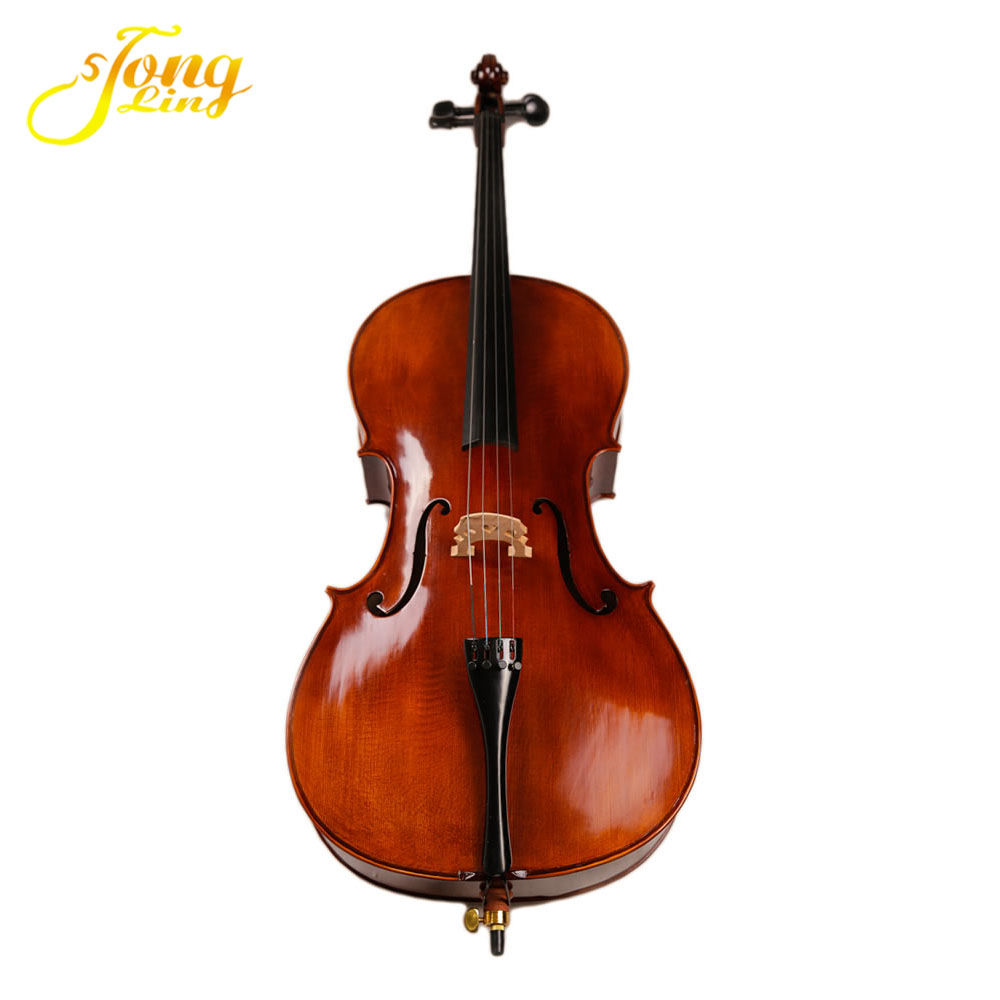 Music Instrument Flamed Cello with Bow (TL 013-1)