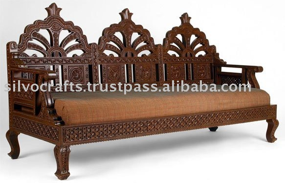 Wooden Carved Sofa Set Antique Product On Alibaba