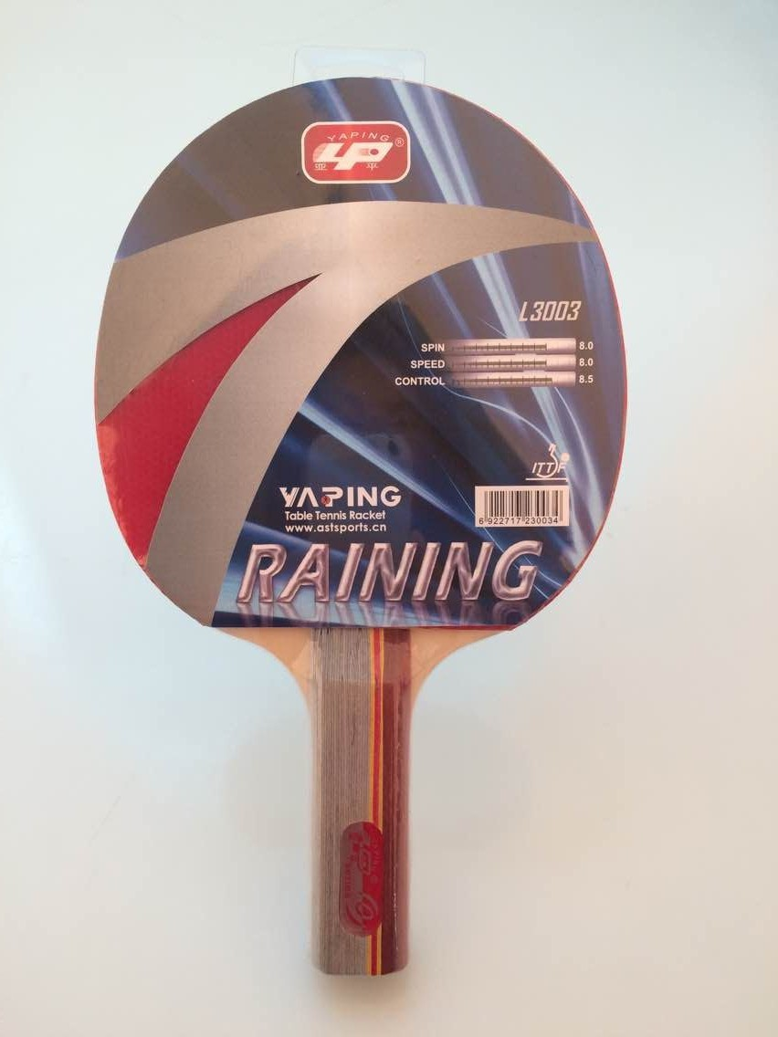 YAPING ITTF Marked Table Tennis Racket Set With 2 bats and 3 balls & Yaping Ittf Marked Table Tennis Racket Set With 2 Bats And 3 Balls ...