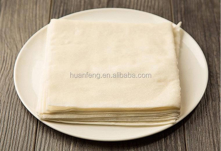 Di alta qualità Cinese alimenti Surgelati netto rotolo di primavera pasticceria wrapper