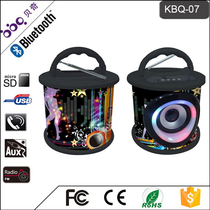 New fashionable multimedia bluetooth speaker 2.0 from China famous supplier
