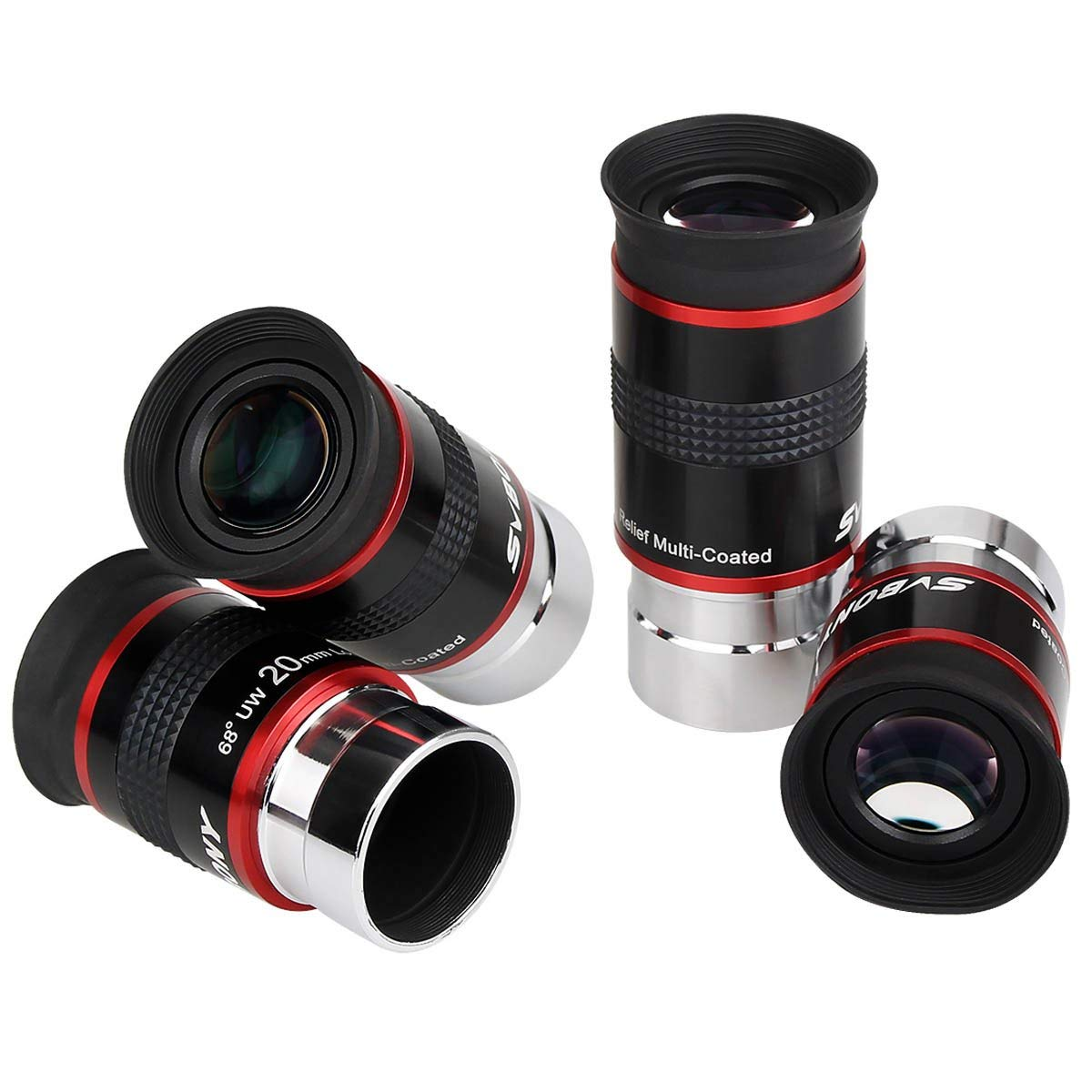 15MM 20MM 9MM 1.25INCH 68 Degree Wide Angle Eyepiece Planetary Eye Lens Astronomical Telescope Eyepiece 6MM