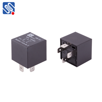 Meishuo MAH-S-112-A-1 normally open 12v pcb relay low price  40A 4pin Head light Vehicle automotive relay for car