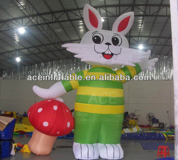 Inflatable Lovely Rabbit Model