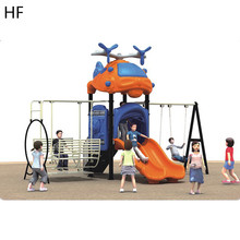 Moderne waggel plastic dia, safe kids commerciële game outdoor playhouse, <span class=keywords><strong>super</strong></span> plezier apparatuur <span class=keywords><strong>speeltuin</strong></span> HFA71-03