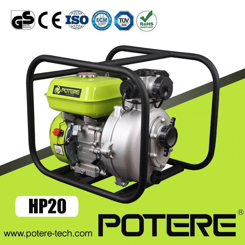 2 inch high pressure gasoline engine water pump with twin impeller