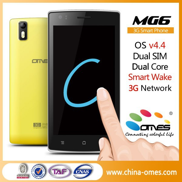 "Unique Function MG6 5"" Dual Core Quad Core 3G 2 Sim Cards android mobile phone 5 inch"