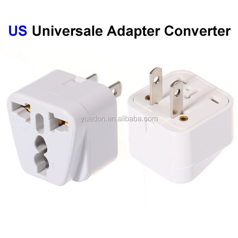 Best Selling Product US Plug om Canda/Japan/Amerika Travel Adapter Converter 3 Pin Stekker Adapter