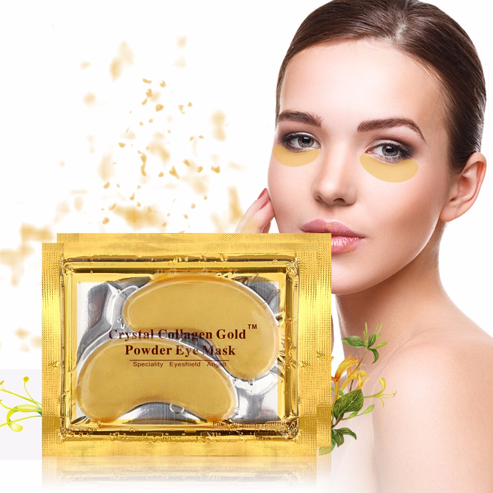 Anti-aging Crystal 24k Gold Collageen Serum Oogmasker