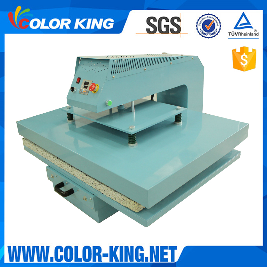Slide Out Large Format Sublimation Textile Cloth Pneumatic Heat Press