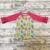 2019 Baby Lemon printing Shirt Wholesale Baby Boutique Clothing Icing Ruffle Shirt Girls 3/4 Sleeve Tops