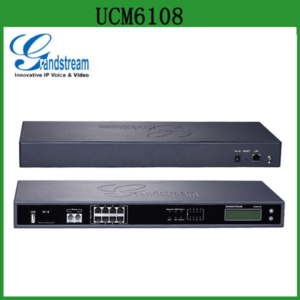 Grandstream UCM6108 IP PBX Appliance with 500 Users
