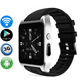 3G WiFi Smart Watch X86 Android Watch Phone Mtk6572 Dual Core WiFi GPS 2.0MP Camera BT