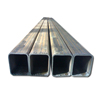 Q345B Mild MS Hollow Section Square Steel Black Pipe for Construction