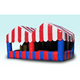 inflatable promotion food booth, advertising inflatable drink stall
