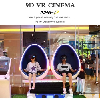 Oculus Rift ! 360 interactive game simulator 9d egg vr cinema VR 9D Cinema for sale