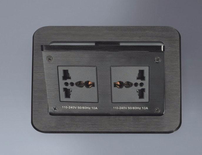Conference Tabletop pop up Connectivity socket Box / office desktop socket with multi-function connection