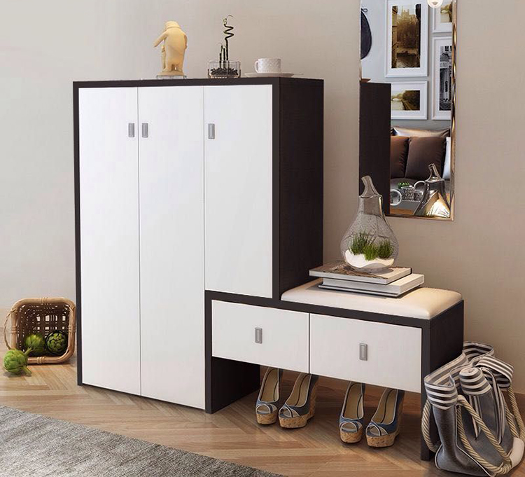 wood storage cabinet design with drawer