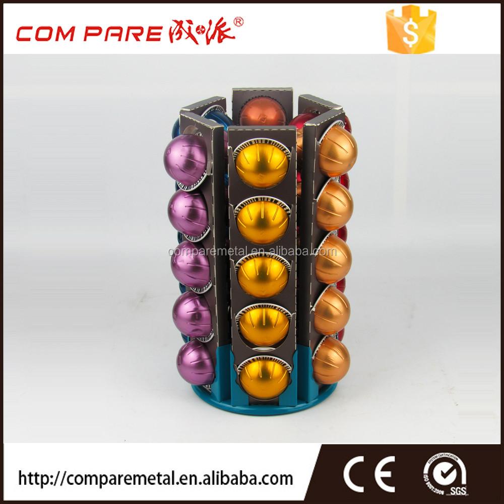 nespresso vertuoline coffee metal plate column capsule collection rack - Nespresso Vertuoline