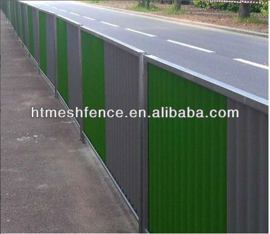 2.4*2m size Steel Shield Hoarding email:fence@apnetting.com