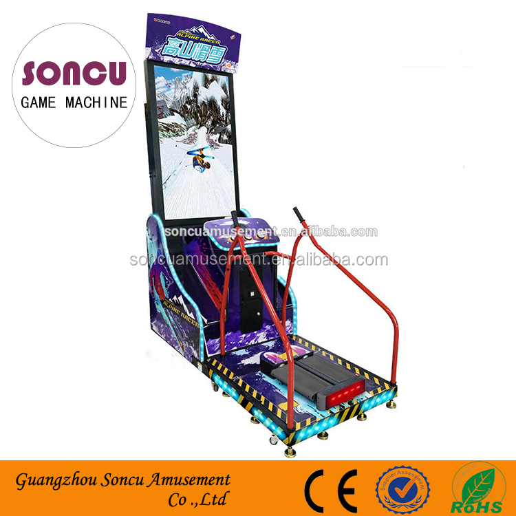 Hot Koop Sport Video Alpine Racer Skiën Elektronische Simulator Arcade Game Machine Muntautomaat Game Machine