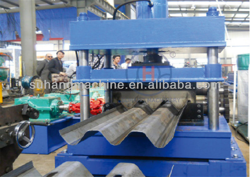 Roll Forming Machine to fabricate road side fence