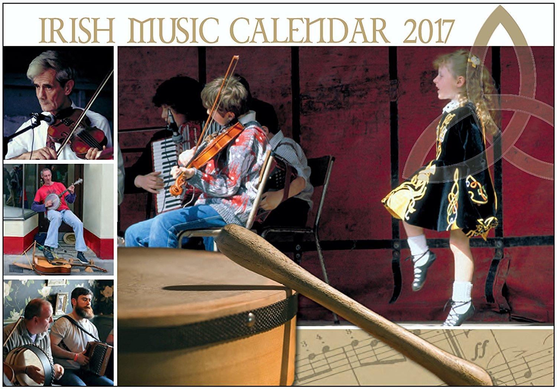 Irish Music wall Calendar 2017 - Made in Ireland