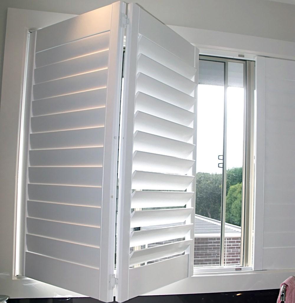 Custom White Outdoor Wood Louver Windows Buy Louver