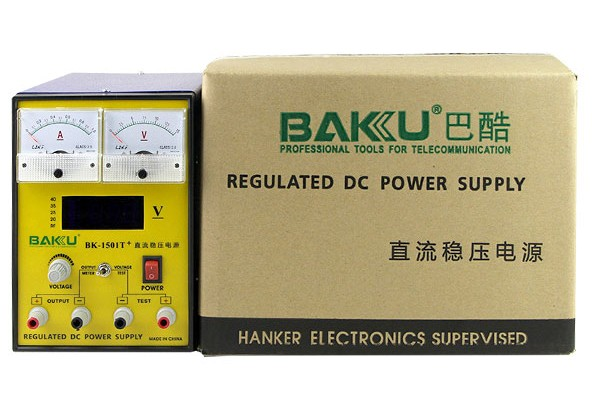 Hot sale BAKU multi-purpose universal switching DC digital power supply BK 1501T+