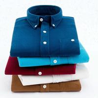 Blank Custom Logo Printing Cheap Home Long Sleeve Corduroy Polo T Shirt for Men