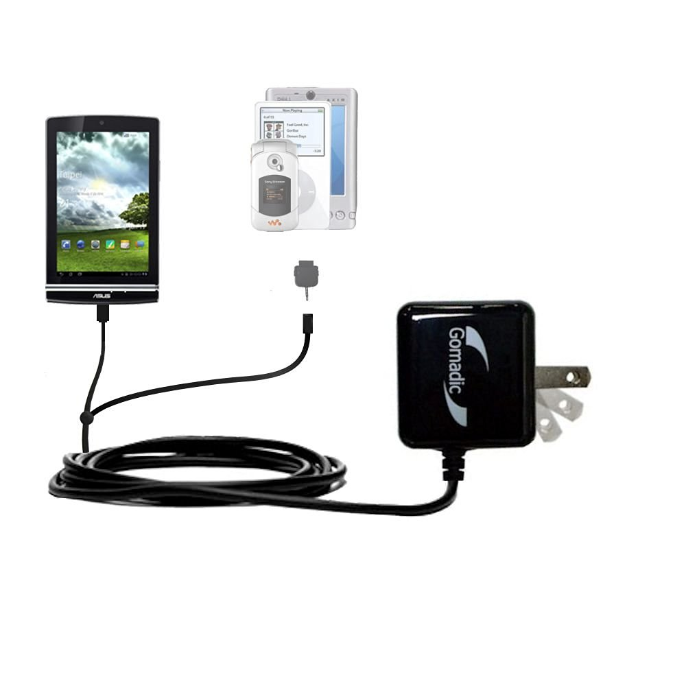 Micro USB AC Home Travel Charger for ASUS Memo Pad ME172V Tablet 7-Inch