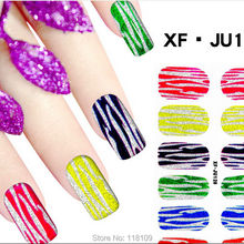 123 Stickers for nails nail arts polish art film beauty foil pegatinas unas agua capsule ongle gel polish ricostruzione unghie