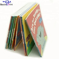 Perfect Binding Softcover Children Picture Book