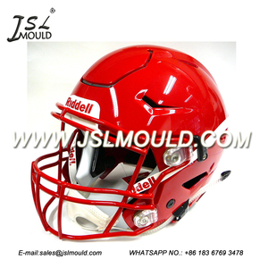 good price plastic football helmet for display