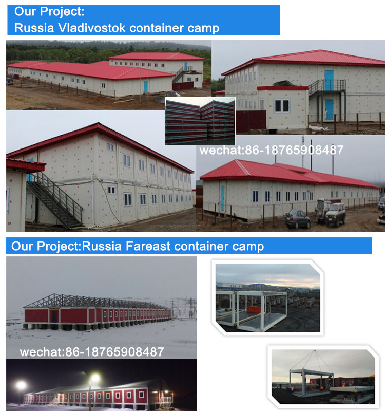 Customized Design Best 20ft Prefab Modular Container House