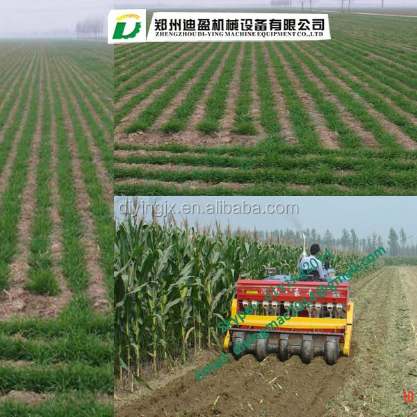 Six Rows Maize Planter Corn Seeder With Fertilizer Agricultural Mini