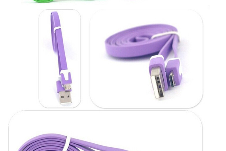 2019 new arrivals Best Selling USB Charger Cable Flat Micro USB Cable