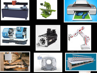 ac servo motor /electric motor cnc parts