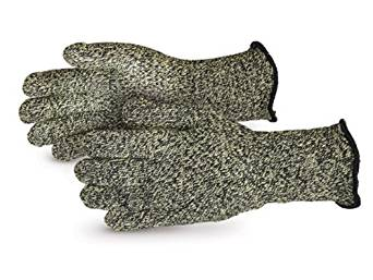 "Superior SKX-W4 CoolGrip Kevlar/Carbon Fiber Reinforced Heat and Flame Resistant Glove with 4"" Cuff, Work, Large (Pack of 1 Pair)"