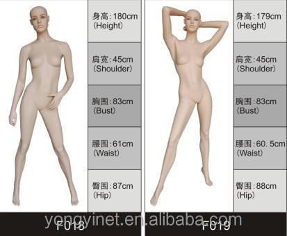 cheap used female mannequins manufacturer for sale
