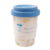 coffee cup made of bamboo with silicone cap mug customized logo and size color changing
