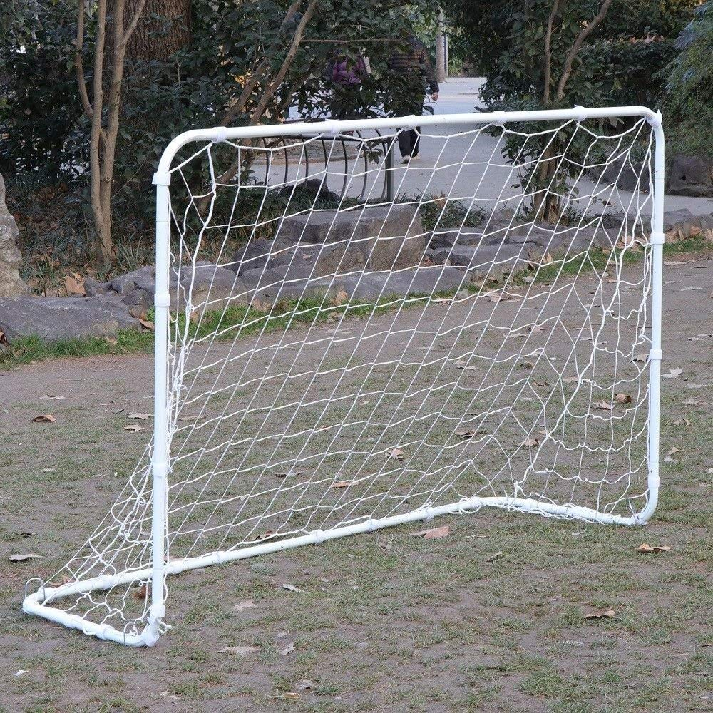 9fc78165b Get Quotations · BBBuy Soccer Goal 6 x 4 Foot Portable Youth Size Strong  Steel Frame Post with Durable