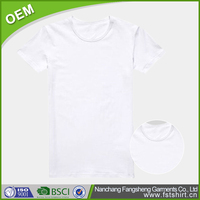 Wholesale cheap custom promotional printing cotton t shirt for men